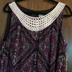 NWT-Paisley Print Catherine's Dress 1XWP