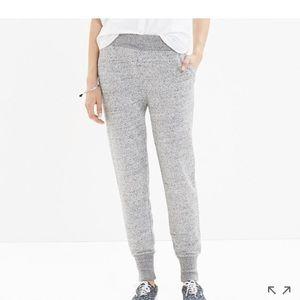 Madewell sleekline sweatpants size large