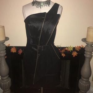 Arden B. Size L. Zipper pleased dress.