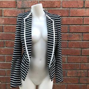 Forever 21 Striped Blazer Size Small