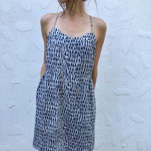 Madewell Silk Sunlight Cami Dress