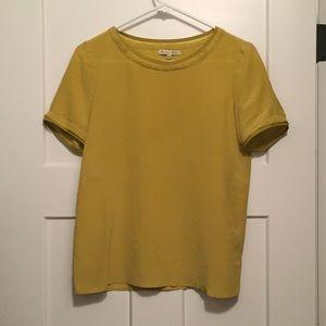 Madewell Tatterseam Silk Blouse