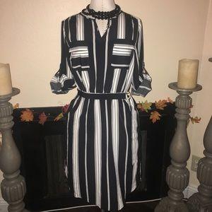 Shirt dress, size XS. New.
