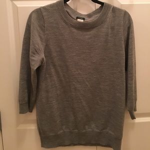 Gray j.crew tippi sweater. Great condition.