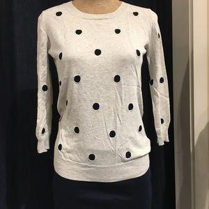 Lightweight cotton sweater