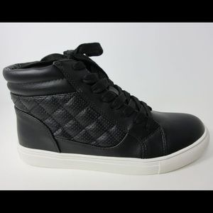 Quilted Hightop Sneakers