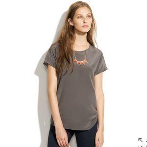Madewell Spotlight Silk Blouse