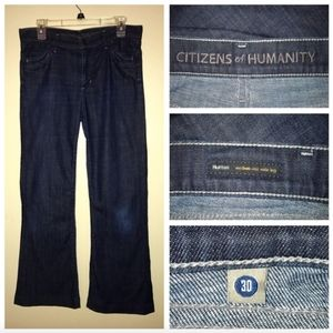 Citizens of Humanity Hutton Medium Rise Wide Sz 30