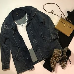 Forever 21 Over Sized Denim Jacket