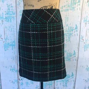LOFT tweed skirt size 6