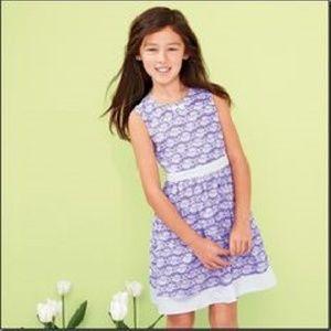New Avon Girls Lace print Dress Size 12