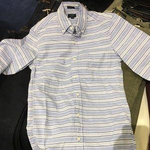 Men's oxford blue stripes