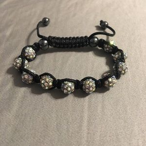 Rhinestone Beaded String Bracelet ‼️MOVING SALE‼️