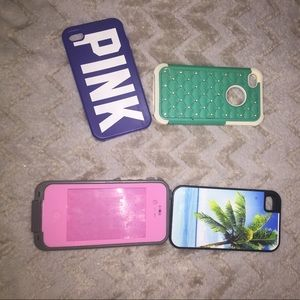 Accessories - iPhone 4 cases ALL FOR 10$