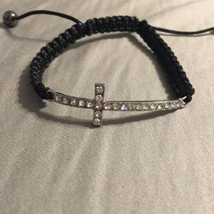 Rhinestone Cross Bracelet ‼️MOVING SALE‼️