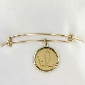14k gold Alex and Ani bangle like new