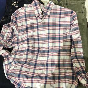 """Light """"summer weight"""" plaid shirt"""
