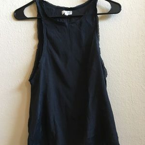Urban Outfitters Black Cutout Tank Top