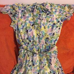 Colourful dress 14P
