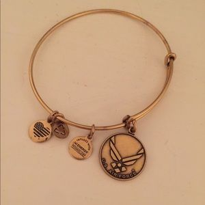 Good Air Force Alex and Ani bangle