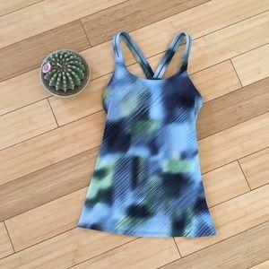 Athleta Abstract Workout Tank