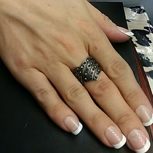 2 cts Marcasite 316L Stainless steel