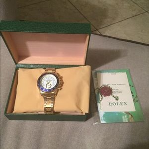 High quality yacht rolex watch with box