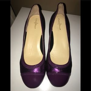 COLE HAAN-NWOT Sparkle Patent Leather NikeAir Heel