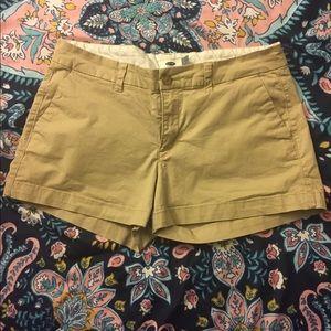 Khaki/beige shorts