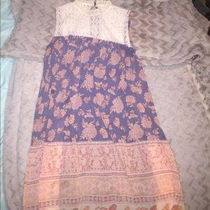 Lace / pattern sundress