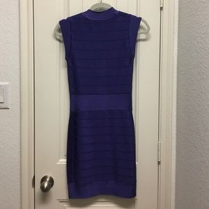 Purple French Connection Bodycon Dress