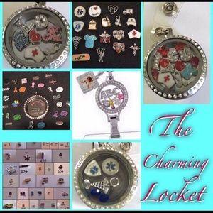 Nurses & Teachers LOVE Custom Badge Clip Lockets!