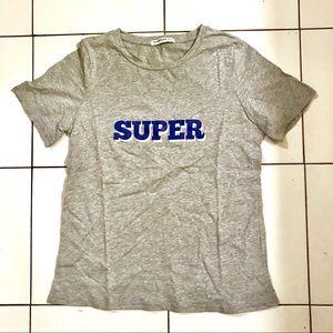 👱🏽♀️Grey SUPER T-shirt