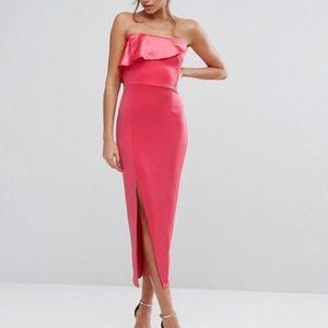 Asos strapless dress