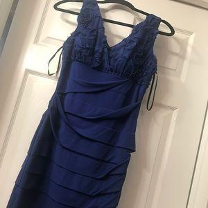 Blue dress Strech
