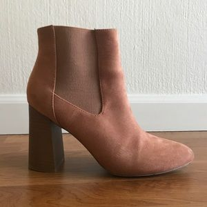Forever 21 Suede Bootie