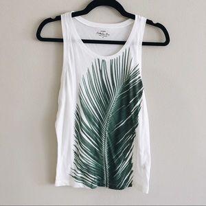 J.Crew • Palm Leaf Tank