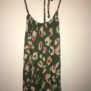 American eagle halter top size large