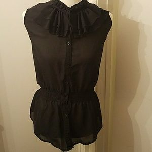 Tops - Sheer Victorian blouse
