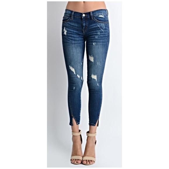 603bebcd696ea KanCan Jeans | Distressed Ankle Skinny | Poshmark