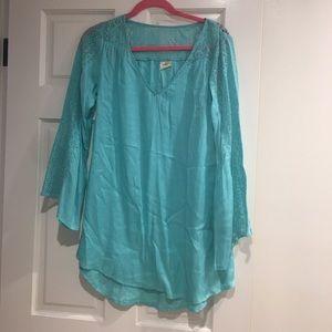 O'Neill blue coverup dress small