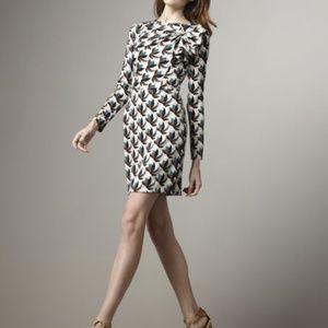 Diane von Furstenberg anneli silk stretch dress