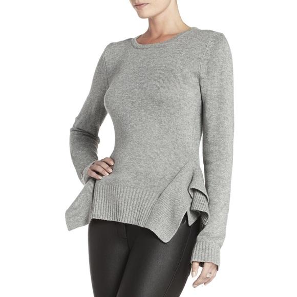 fca6e345112895 BCBGMaxAzria Sweaters - BCBG Max Azria Loretta Side Panel Pullover Sweater