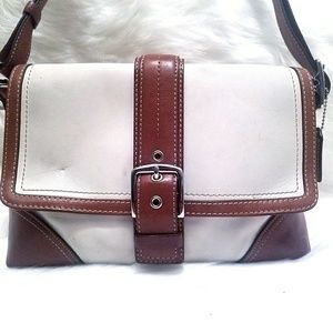 Authentic Coach 100% Leather Cover Purse
