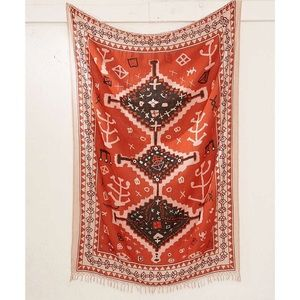 Urban Outfitters Geometric Boucherouite Tapestry