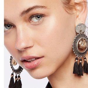 Free people Victorian nights earrings