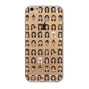 Accessories - Kim Kardashian Kimoji Emoji iPhone 7 Cell Case