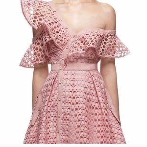 NWTs pink frill dress