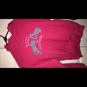 Pink Santa Crus Hoodie