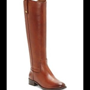 NEW boots Size 10M tagged by INC Cognac Brown